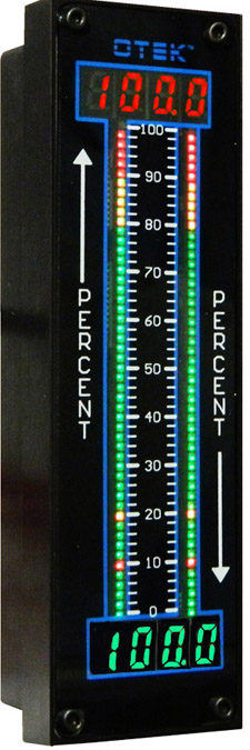 """NTM-9 replaces any 6"""" bargraph meter"""